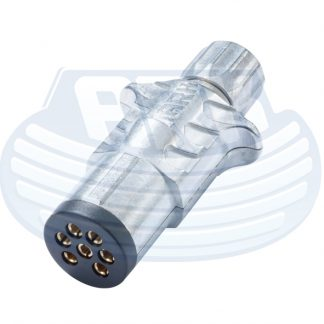 7 Pin Small Trailer Plug Metal