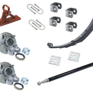Single Axle Suspension Axle Hub Kit