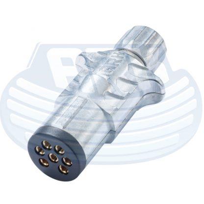 7 Pin Small Trailer Plug Metal