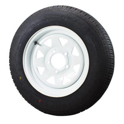 Wheel tyre rim white black 185 light truck 14 inch 16 inch Ford Holden Landcruiser