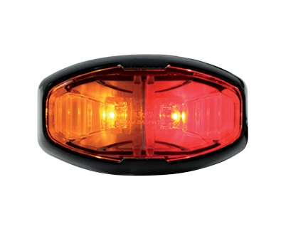 Amber Red Side Trailer Marker Lamp LED Multi Volt ADR