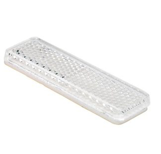 White Front Reflector ADR Trailer stick on