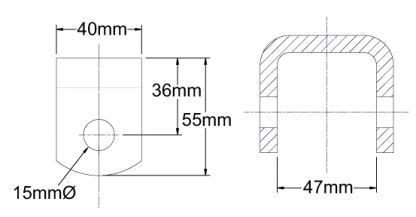 Spring Hanger Diagram Suspension Trailer