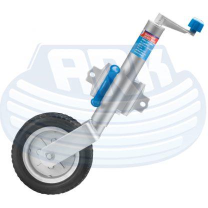 Swivel jockey wheel trailer Loadstar trailers box