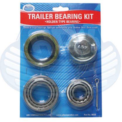 Trailer Bearing Kit Holden or Ford Trailer Loadstar Bearings Seals Cones Dust cap