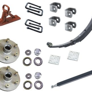Single axle kit 4 ft trailer offroad land cruiser 5 stud 6 stud Loadstar trailer